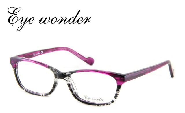 a416eecf2cb 2014 Super Quality Fashion Popular Women Purple Designer Eyeglasses Frame  in Vintage style Designed in Spain