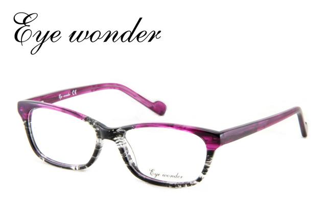 2014 qualidade de moda Popular roxo óculos de armação de Vintage projetado em espanha