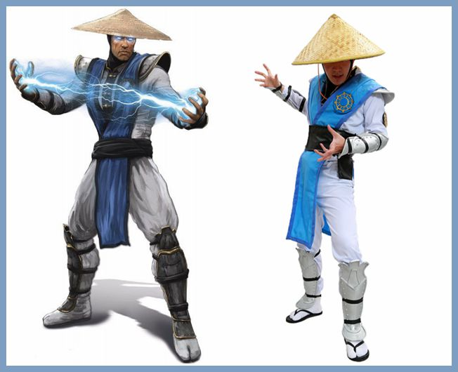 Raiden Costume Mortal Kombat X Raiden Cosplay Outfit With Full Set Armor