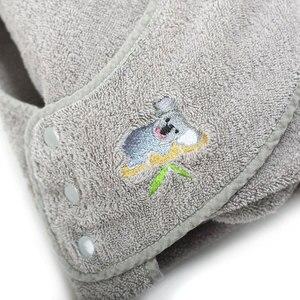 Image 3 - 90CM * 90CM czesana bawełna ręcznik kąpielowy z kapturem fartuch ręcznik wysokiej jakości chłonne dzieci chusteczki z kapturem ręcznik kąpielowy