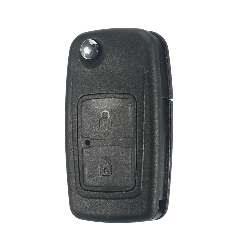 <font><b>2</b></font> Buttons Modified Remote Key Shell Car Key Case with Uncut Blade Blank For CHERY A5 FULWIN <font><b>TIGGO</b></font> E5 A1 COWIN EASTER image