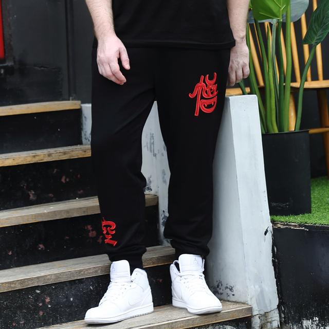 2016 hombres Pantalones De Carga ocasional más el tamaño de Dibujos Animados dragon ball z trajes patrones L-4XL Loose Harem Hip Hop pantalones