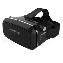 VR Virtual Reality 3D Glasses Headset Head Mount 3D Movies Games For 3.5-6.0 inch Phone