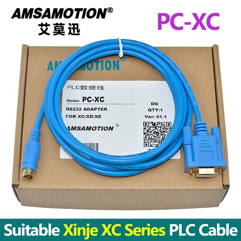все цены на PC-XC/DVP Suitable Xinje PLC Programming Cable Support XC1 XC2 XC3 XC5 Communication Cable онлайн