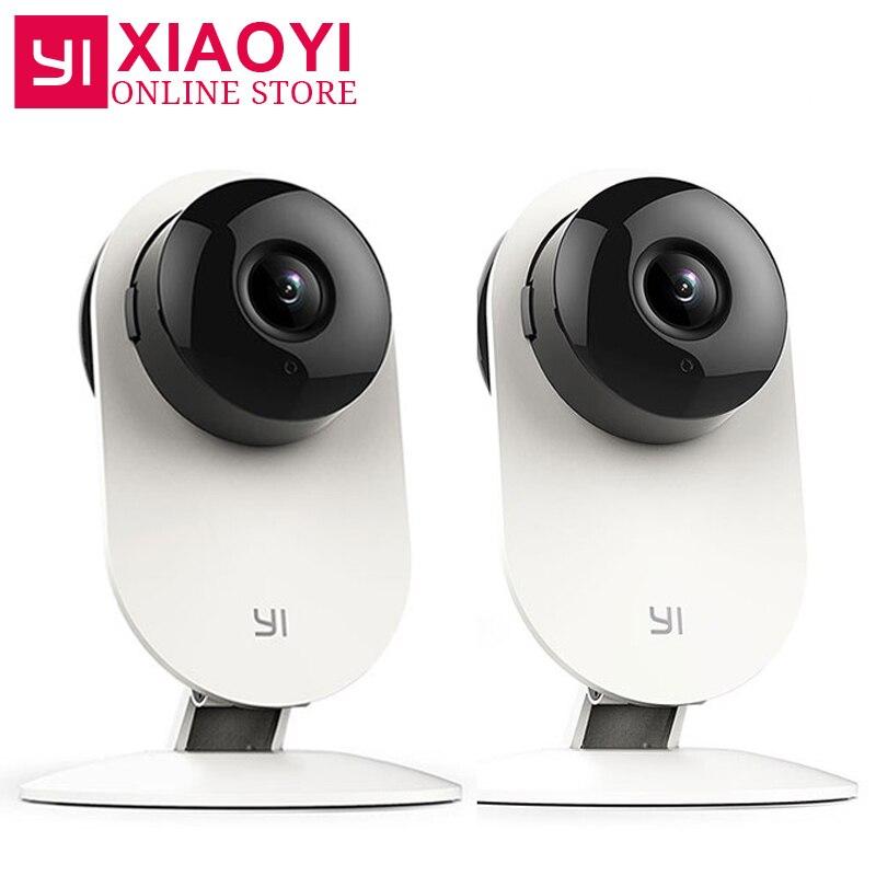 2 pcs YI 720 p Caméra Wifi Réseau IP Caméra Night Vision Baby Monitor Surveillance xiaomi xiaoyi de Sécurité Intérieure caméra