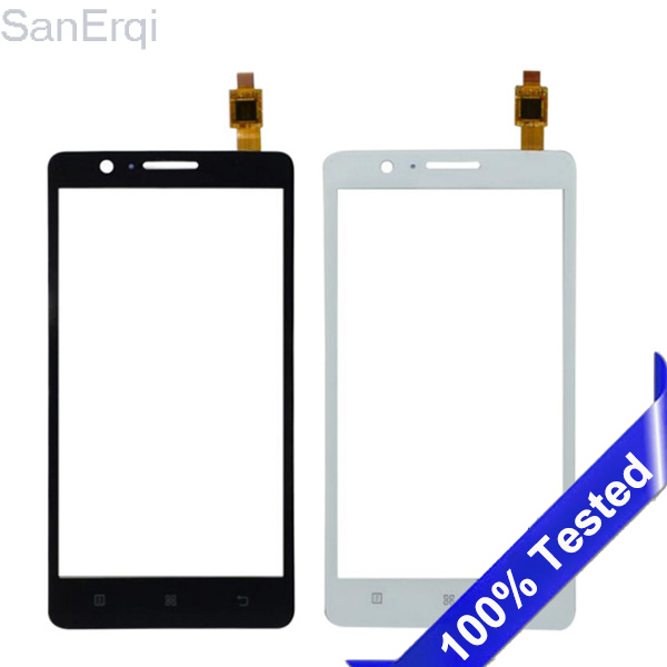 For Lenovo A536 536 Touch Screen Sensor Touchscreen  Panel Digitizer Front Glass Lens New Tested SanErqi