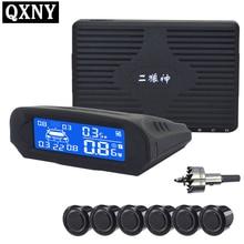 6/czujniki NY8080 Zestaw Wyświetlacz LCD Czujnik Parkowania Samochodu dla wszystkich samochodów parking assistance parking samochodów detektor czujnik parkowania