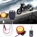 2016 New Motorbike Anti-theft Moto Anti-theft Alarm System Security Alarm Protection with 3V CR2025 Battery