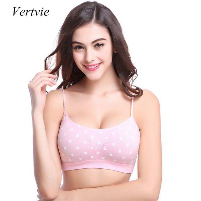 131747d6e Online Shop Vertvie 2019 Hot sale Cotton Bra Brand Sexy Nursing Bra  Wholesale Maternity Women Pink Black Dots Sports Bras High quality Large