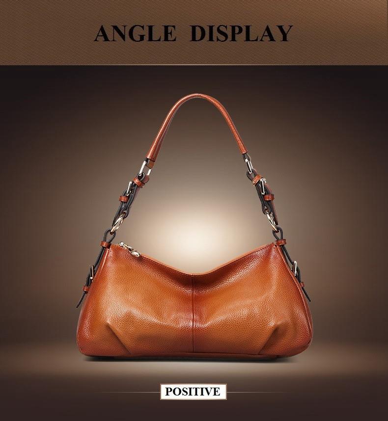 Ladies Handbags 2016 New Womens Bags And Purses Solid Women Leather Shell Bag Bags Zipper Retro Designer Handbags High Quality_035