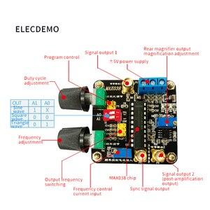 Image 3 - MAX038 funktion signal generator modul dreieck sinus welle rechteckigen pulse welle frequenz generator Einstellbar duty zyklus