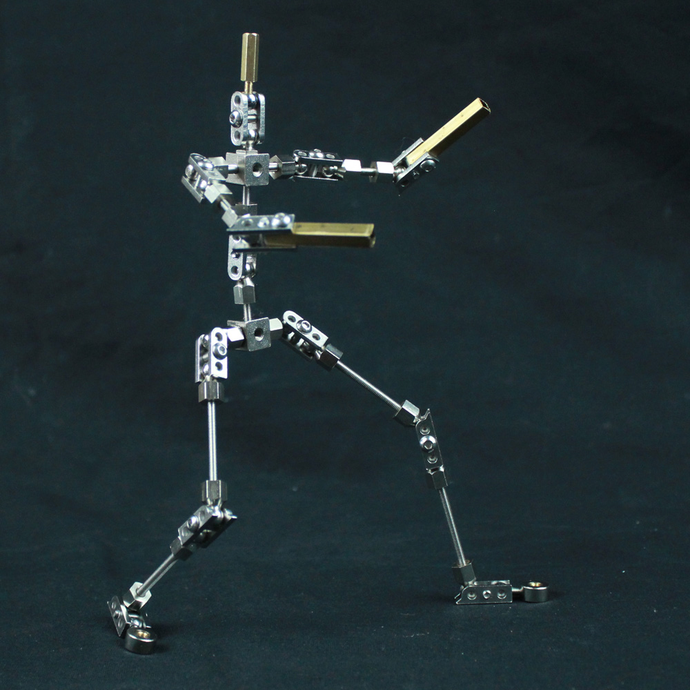CINESPARK PMA-22 22cm High quality steel NOT-READY-MADE DIY studio armature puppet for Stop Motion Animation Character cinespark sba 15 15cm not ready made stainless steel diy stop motion character puppet armature kit