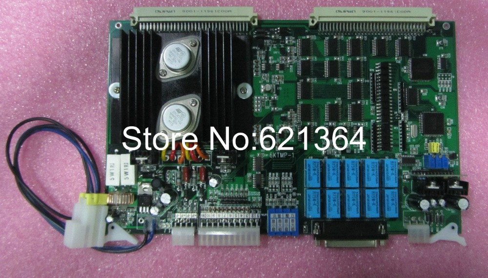 Techmation 6KTMP-1 Motherboard for industrial use new and original 100% tested ok