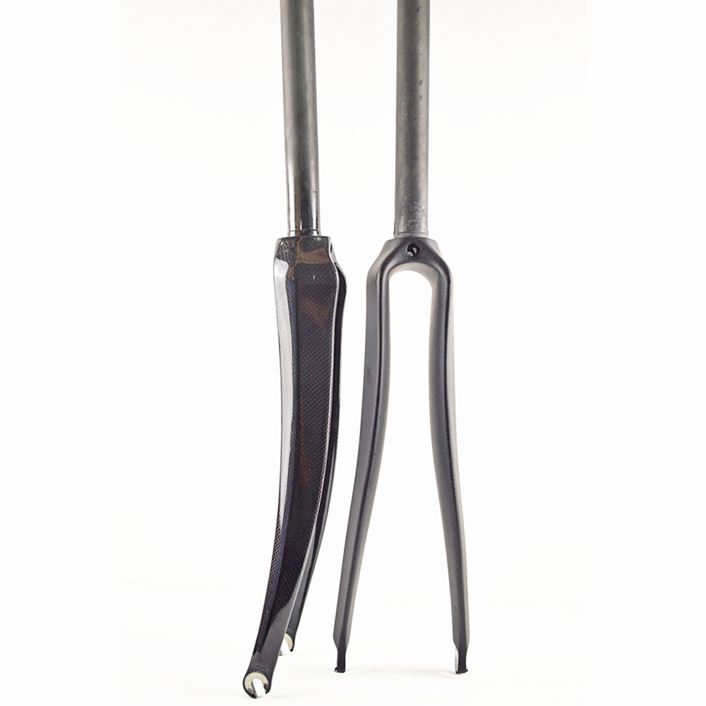 Special Offer Carbon Fork New Style Road Bike Fork Bicycle Parts 1-1/8 700c Superlight 360g 3k Finish Cycling Accessories