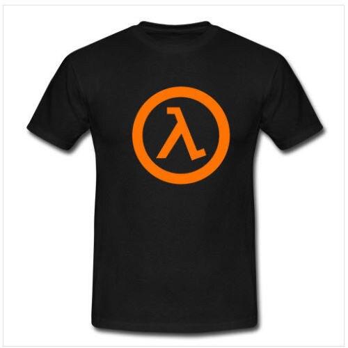 Cheap T Shirts Graphic Half Life Video Game Tshirt Crew Neck Short-Sleeve Mens T Shirts