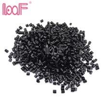 LOOF 100 gram Hotmelt włoski keratyna klej do przedłużania włosów topi się klej granulki koraliki wysoka lepkość 2 kolory dostępne