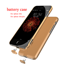 Ultrathin External Battery case for Apple iPhone 6 6s plus Backup Charger Cover for iphone 6s