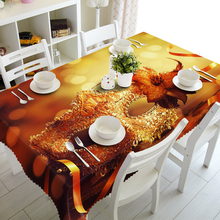 Customizable Tablecloth 3D Sexy Ladies Mask Pattern Waterproof Thicken Rectangular and Round Table Cloth for Wedding