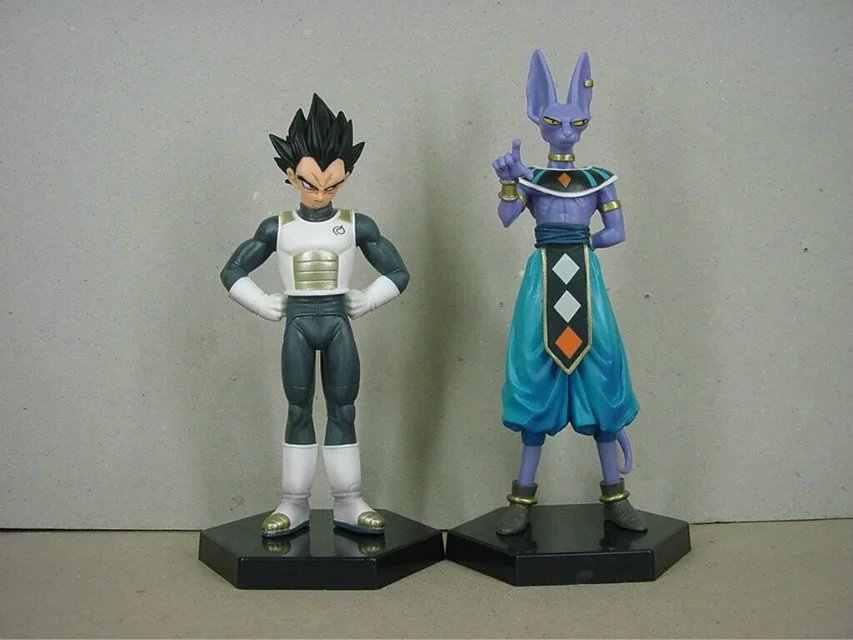 2 pçs/lote 18 centímetros Japonês figura anime dragon ball action figure set modelo colecionáveis brinquedos melhores brinquedos dos miúdos