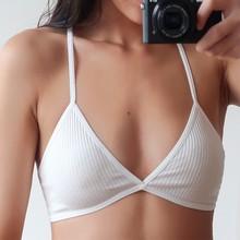 GUMPRUN Ultra thin Bralette Wire Free Seamless Push up Bras For Women Solid Sexy Lingerie Underwear Beautiful Back Bra