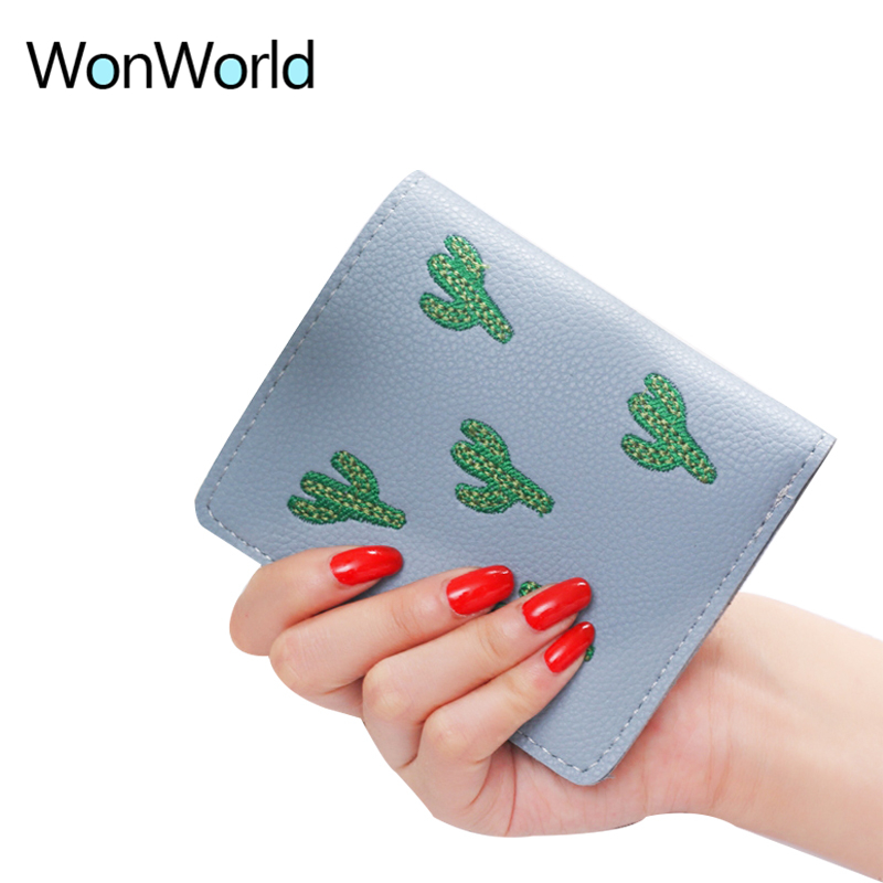 Wallet Lovely Clutch Embroidery mini Clutch Thin Travel ladys card Rfid Wallets Coin puses Wallet Carteras portefeuille Bolsa
