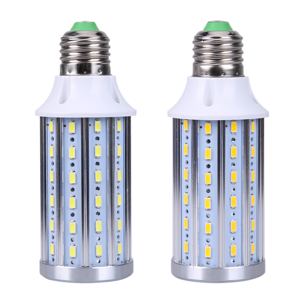 E27 Led 100w Us 11 25 Ac85 265 100w Equivalent Led Bulb 72 Chip Corn Light E14 E27 B22 20w Cool Warm White Daylight For Home Lighting 1pcs Ng4s In Emergency