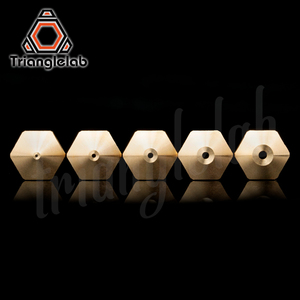 Image 3 - trianglelab T  Volcano Nozzle 1.75MM Large Flow High quality custom models for 3D printers hotend for E3D volcano hotend J head