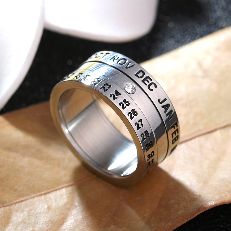 L49~L64 Round shape made of stainless steel beautiful good looking for girls women fahsion jewelry