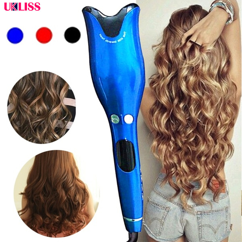 Hot Sell Air Spin & N Curl 1 Inch Ceramic Rotating Automatic Curling Iron Hair Curler Professional Hair Curler Styling Tool