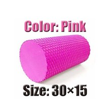 High Density Floating Point Fitness EVA Yoga Foam Roller for Physio Massage Pilates Tight Muscle Gym Exercises Yoga Block 2color