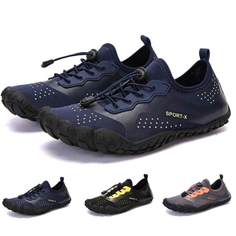 Summer Water Shoes Men Beach Sandals Upstream Aqua Shoes Man Quick Dry River Sea