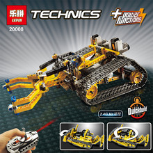 LEPIN 20008 technic series remote contro lthe bulldozer Model Assembling Building block Bricks kis Compatible with 42030
