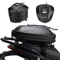Waterproof Motorcycle Tail Bag Multi functional Durable Rear Motorcycle Seat Bag High Capacity Rider Backpack Fuel Tank Bag