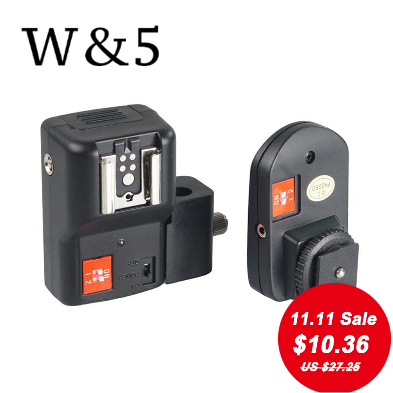 Wansen PT-04NE 4 canales inalámbrico remoto Speedlite Flash Trigger - Cámara y foto - foto 1