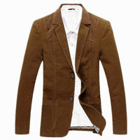 Spring Autumn 2014 Men S Casual Suit Blazer Slim Fit Men S Suit Jacket Casual Business