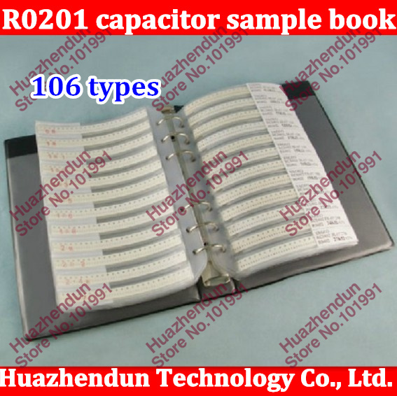 New Original R0201 0201 Series SUPEROHM SMD Resistor 106 types 3025pcs 5% Tolerance Electronic Components Sample Book new original r0201 0201 series superohm smd resistor 106 types 3025pcs 5% tolerance electronic components sample book