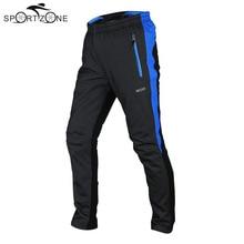 Мужские велосипедные штаны Arsuxeo, зимние теплые ветрозащитные штаны, теплые флисовые Колготки, брюки для езды на велосипеде, 3 цвета