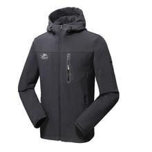 цена на Oversized 5XL Men Warm Winter Waterproof Softshell Fleece Jackets Man Male Camping Hunting Hiking Trekking Climb Outdoor Skiing