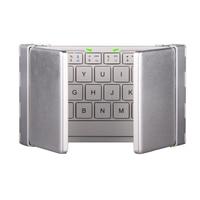 Portable Folding Bluetooth Keyboard Foldable wireless Bluetooth Keyboard for Raspberry pi 2 Support IOS Andriod Windows System