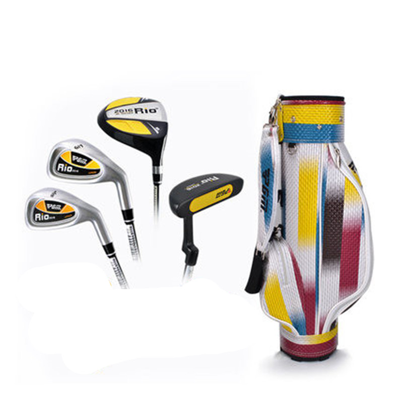 2018 Unisex Golf Golf Club Professional Children, Boys And Girls Beginner Sets Pole 3-5,5-8,8-12 Years Age Segment Selection 2018 new pgm high quality golf children s club boys and girls putt free shipping