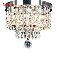 AC110V 240V Led Crystal Chandelier Ceiling Lamp Plafon Lustre For Entrance Kitchen lights Chandeliers Fixtures Home Decor