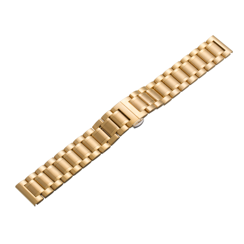 18mm Width Quick-Release Watchband Stainless Steel Smart Wristband Replacement Strap Band for Huawei Smart Watch OD#S
