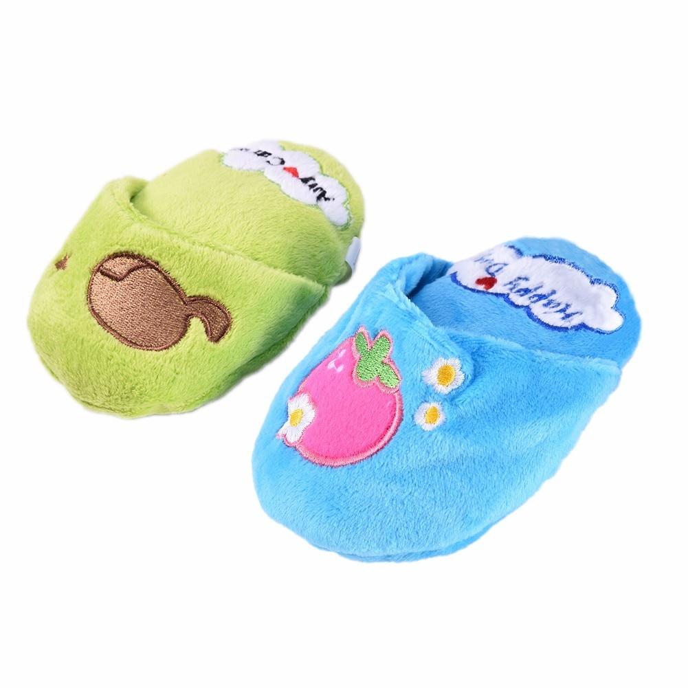 Puppy Gnawing játékok - A papucs típus, beépített hangjelző, - Pet termékek