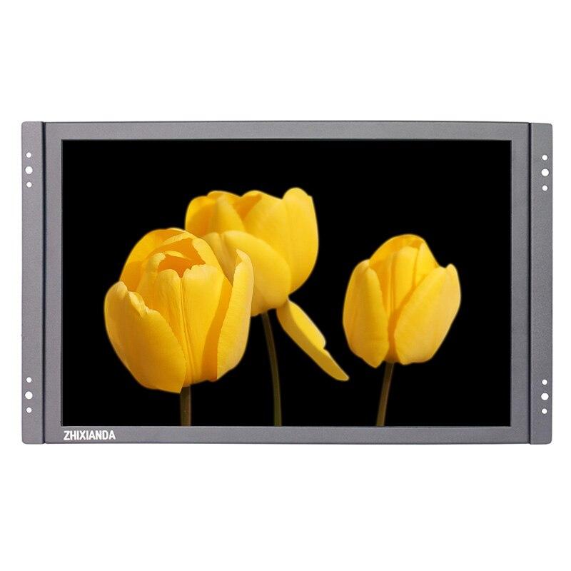 ZHIXIANDA 14.1 inch industrial LCD monitor 1280*800 open frame monitor with AV/BNC/VGA/HDMI/USB speakers kf08 8 inch open frame industrial lcd monitor with vga hdmi bnc usb av signal input