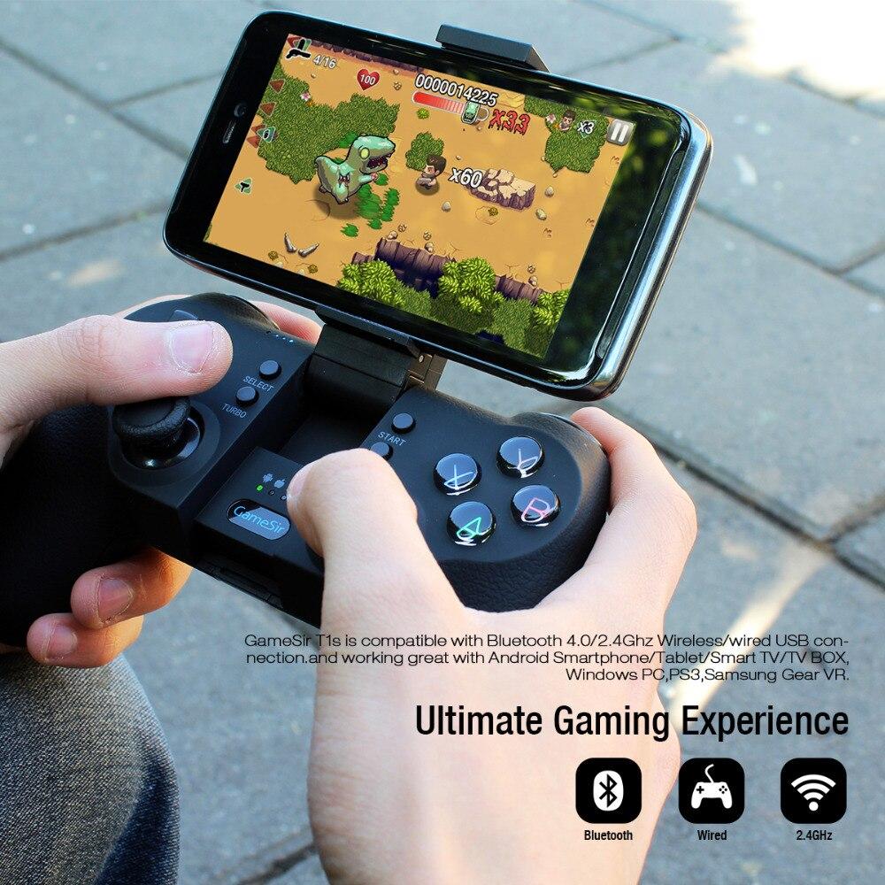 Gamesir T1s Mando Bluetooth Inalambrico De Juegos Para Android Windows Pc Vr Tv Box Ps3 En Gamepads De Electronica En Aliexpress Com Alibaba Group