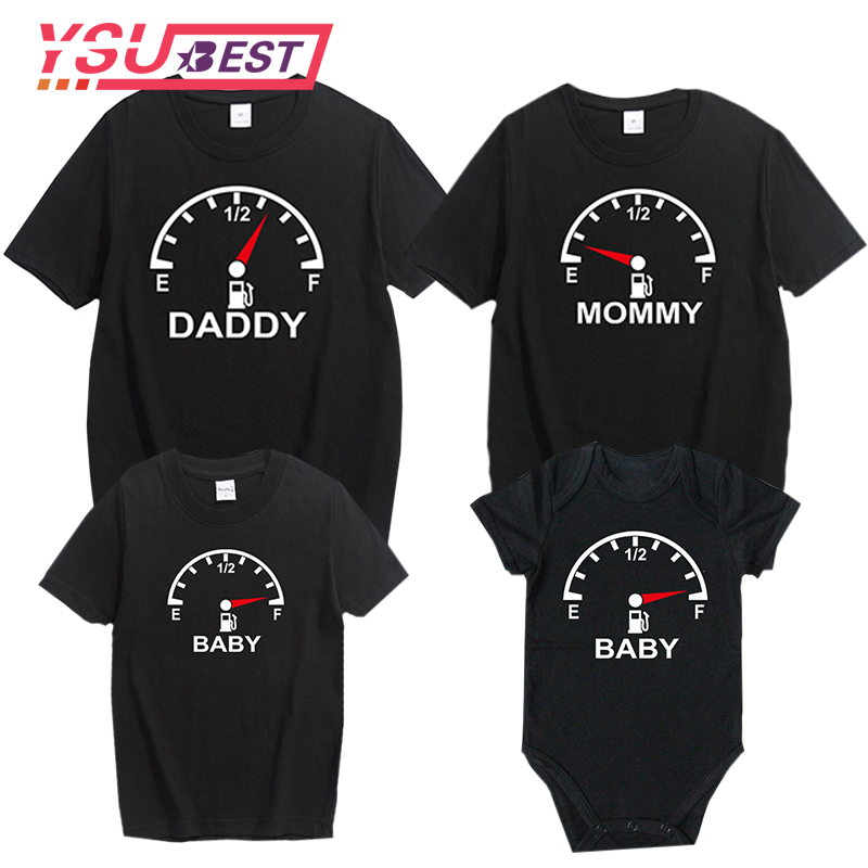 Family Matching Outfits Father and Son Mommy and Me Clothes Baby Summer Family Outfits Clothing T-shirt for Dad and Son Clothes casio sa 77 page 9