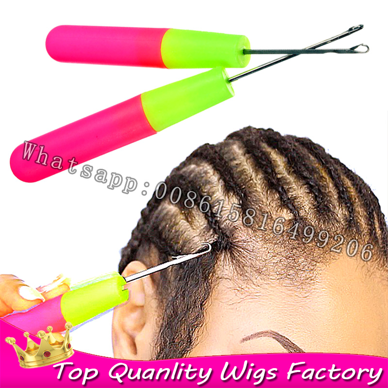 ... Hook Crochet Needle for Jumbo Braids Braiding Hair and Dreadlocks hair