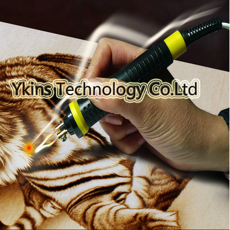 2pcs/lot high quality gourd Pyrography pen for gourd pyrography machine with high temperature cover 2pcs lot gourd pyrography pen for gourd pyrography machine