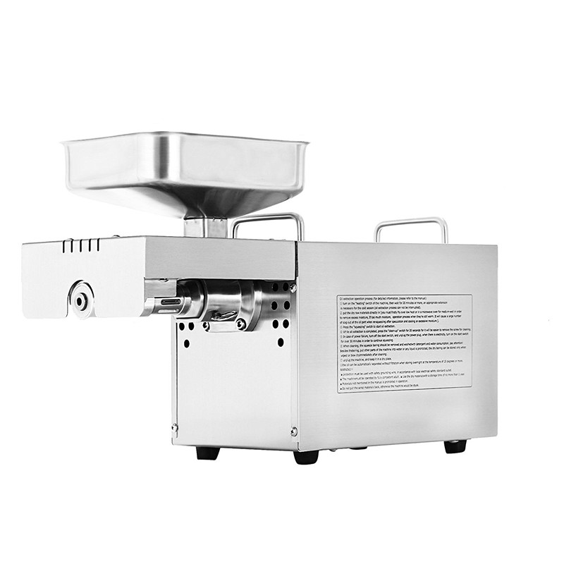 Automatic Hot Cold Press Oil Presser Oil Extractor Expeller Pressing Machine Stainless steel Peanut Coconut Oil Press Machine