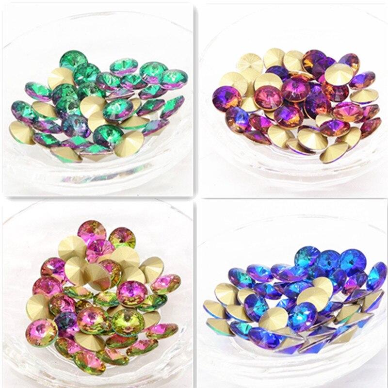Perlen & Schmuck Machen 100% QualitäT Großhandel Neue 15 Stücke Xilion Elemente Kristall Glas Rivoli Lose Perlen 14mm